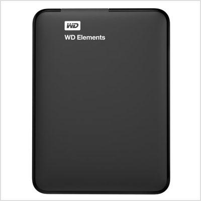 משהו רציני כונן קשיח חיצוני של וסטרן דיגיטל 4 טרה - WD 4TB Elements Portable DS-84