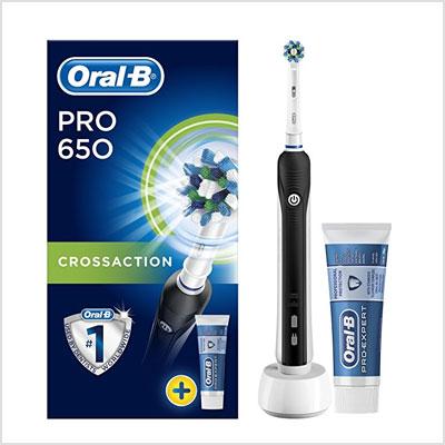סופר מברשת שיניים חשמלית אורל בי Oral-B Pro 650 - רעות תקני לי PC-56