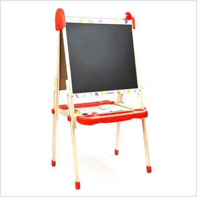 בנפט סטנד ציור לילדים שלוש אפשרויות - לוח גיר לוח מחיק ונייר מבית QC-86