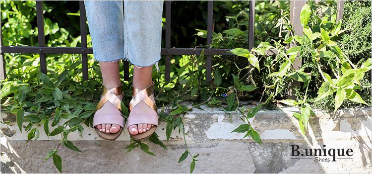 יופי, שיק וצבע – נעלי בי יוניק