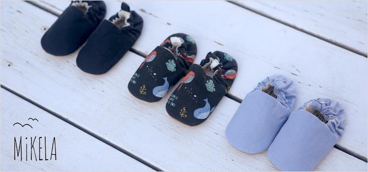 טבעי ונוח לבייבי שלנו – הנעליים של Mikela