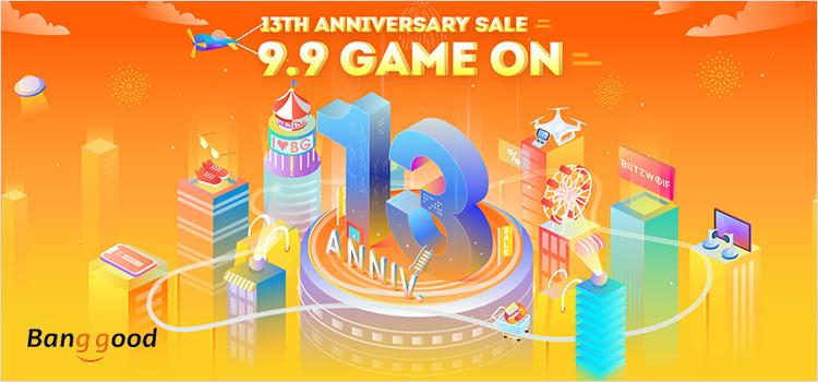 יום הולדת 13 לבנגגוד – Banggood 13th Anniversary SALE
